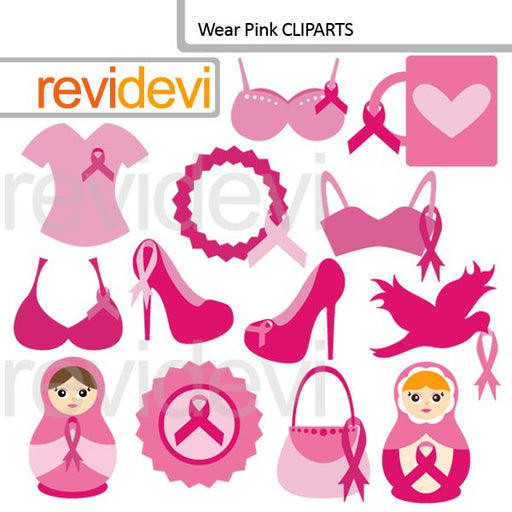 Wear Pink Cliparts  Revidevi    Mygrafico