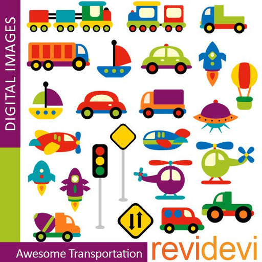 Awesome Transportation  Revidevi    Mygrafico