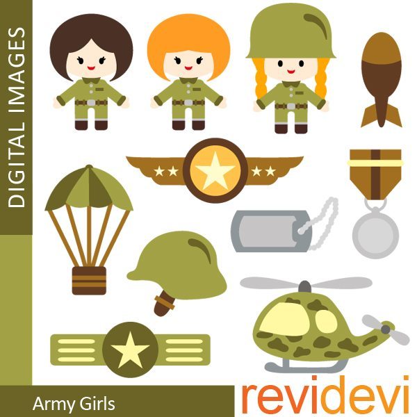 Army Girls  Revidevi    Mygrafico
