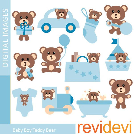 Baby Boy Teddy Bear  Revidevi    Mygrafico