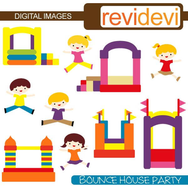 Bounce House Party  Revidevi    Mygrafico