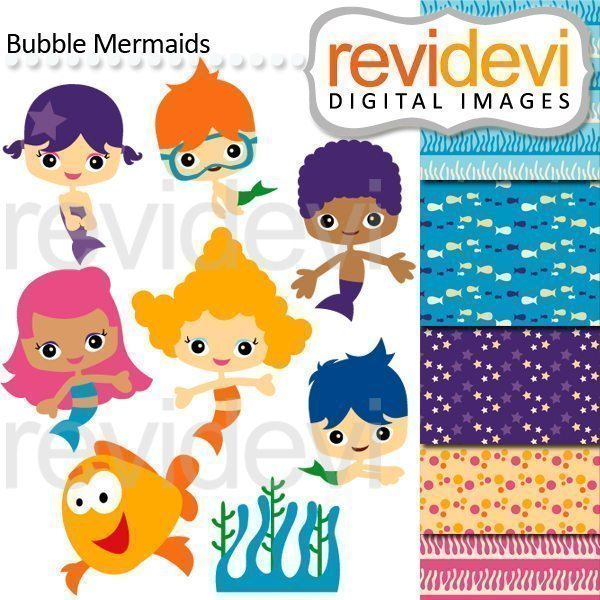 Bubble Mermaids  Revidevi    Mygrafico