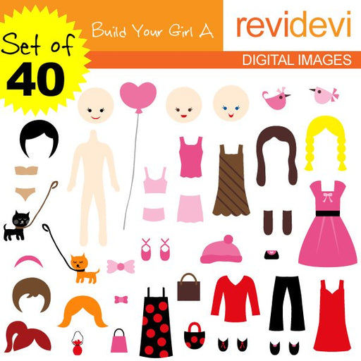 Build Your Girl A Set of 40  Revidevi    Mygrafico