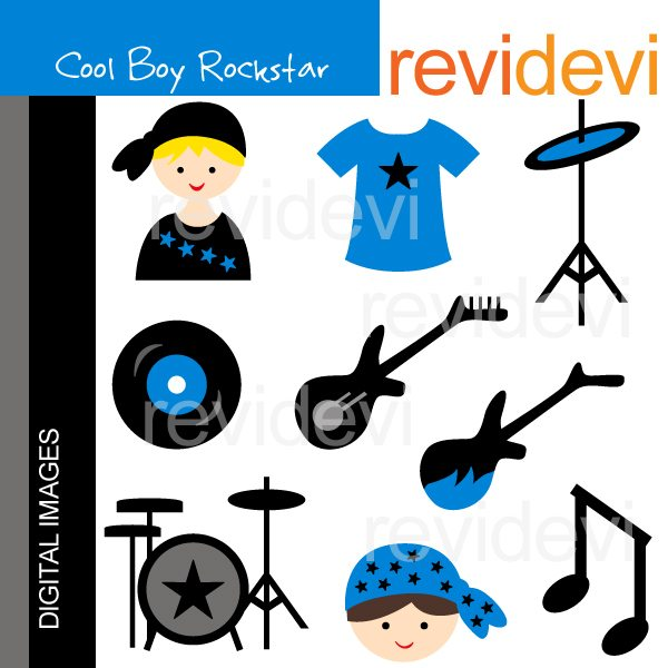 Cool Boy Rockstar  Revidevi    Mygrafico