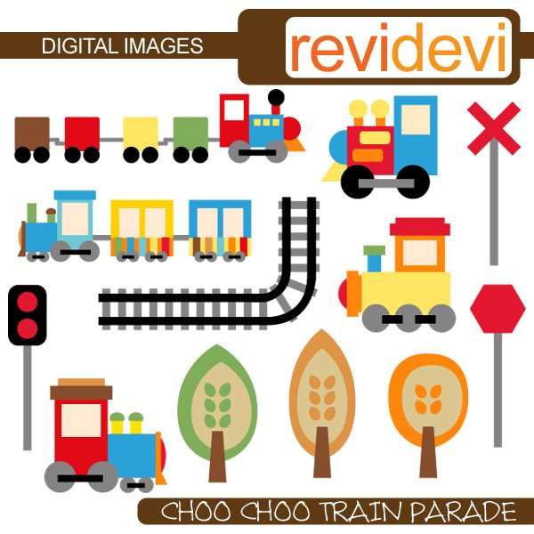 Choo Choo Train Parade  Revidevi    Mygrafico