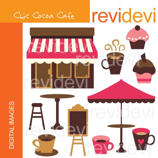 Chic Cocoa Cafe  Revidevi    Mygrafico