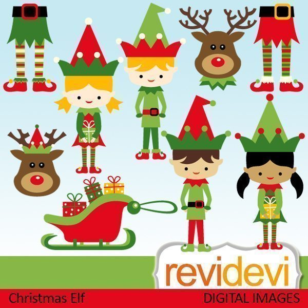 Christmas Elf  Revidevi    Mygrafico