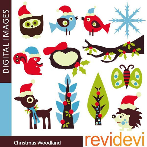 Christmas Woodland  Revidevi    Mygrafico