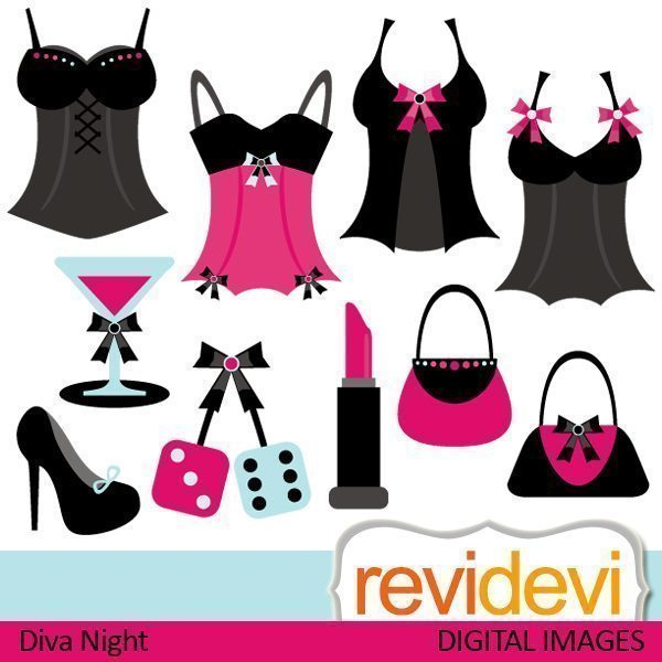 Diva Night Cliparts  Revidevi    Mygrafico