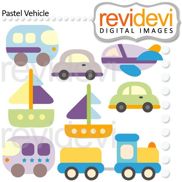Pastel Vehicle  Revidevi    Mygrafico