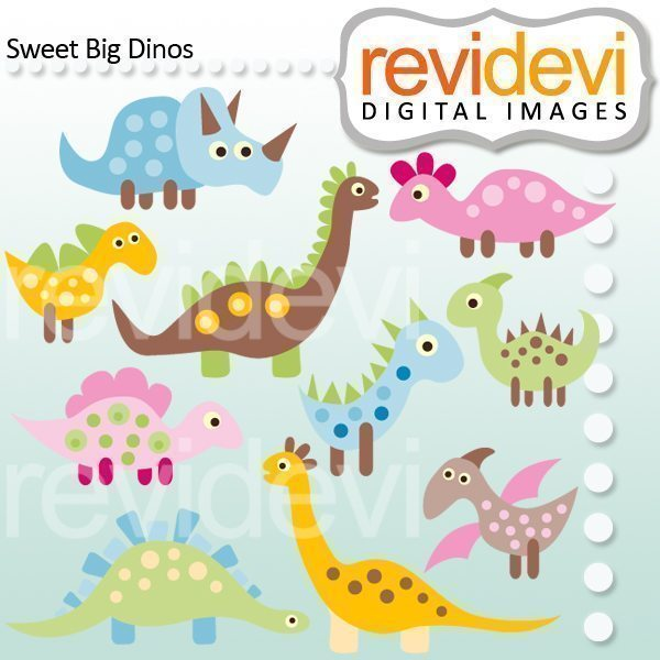Sweet Big Dinos  Revidevi    Mygrafico