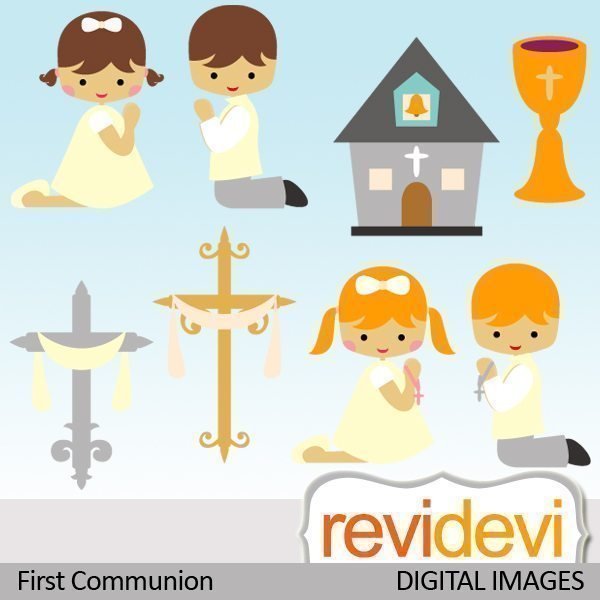 First Communion Christian Clipart  Revidevi    Mygrafico
