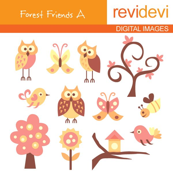 Forest Friends A  Revidevi    Mygrafico