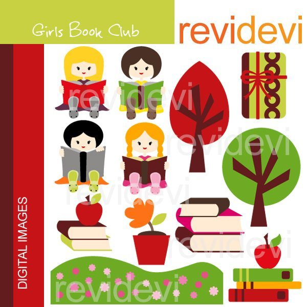 Girls Book Club  Revidevi    Mygrafico