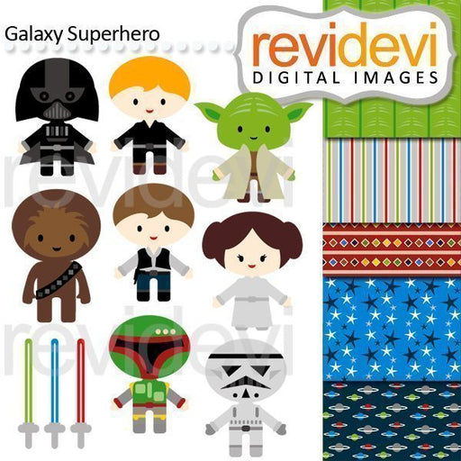 Galaxy Superhero  Revidevi    Mygrafico