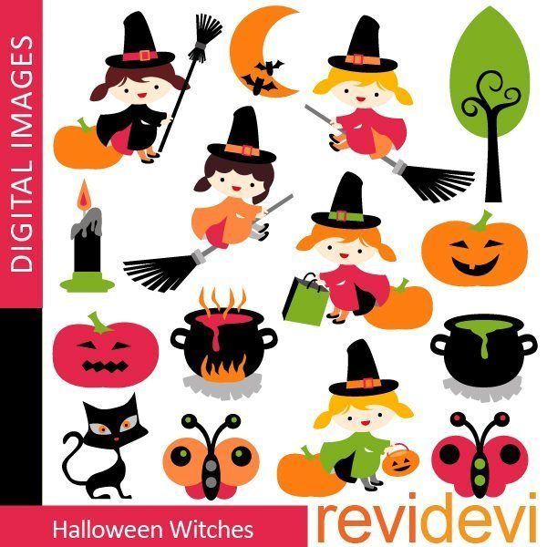 Halloween Witches  Revidevi    Mygrafico