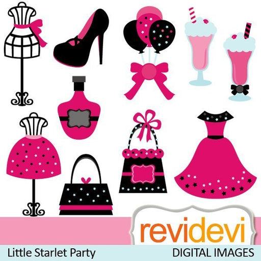 Little Starlet Party  Revidevi    Mygrafico