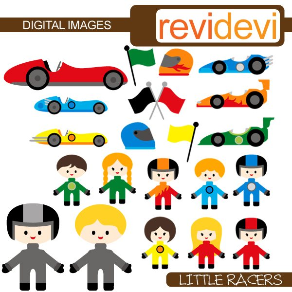 Little Racers  Revidevi    Mygrafico