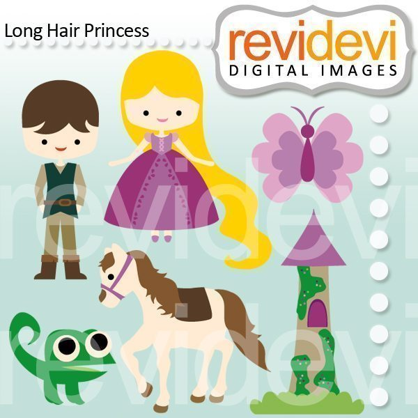 Long Hair Princess  Revidevi    Mygrafico