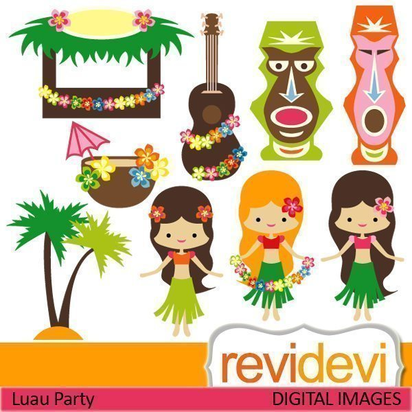 Luau Party  Revidevi    Mygrafico