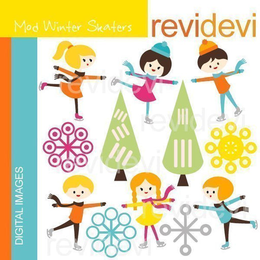 Mod Winter Skaters  Revidevi    Mygrafico