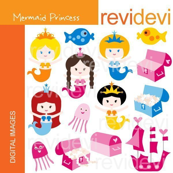 Mermaid Princess  Revidevi    Mygrafico