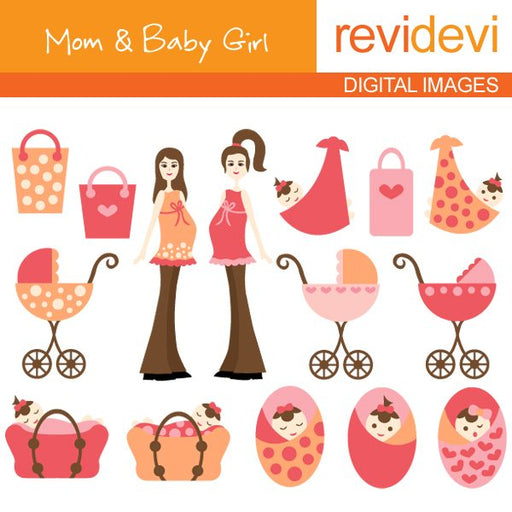 Mom & Baby Girl  Revidevi    Mygrafico