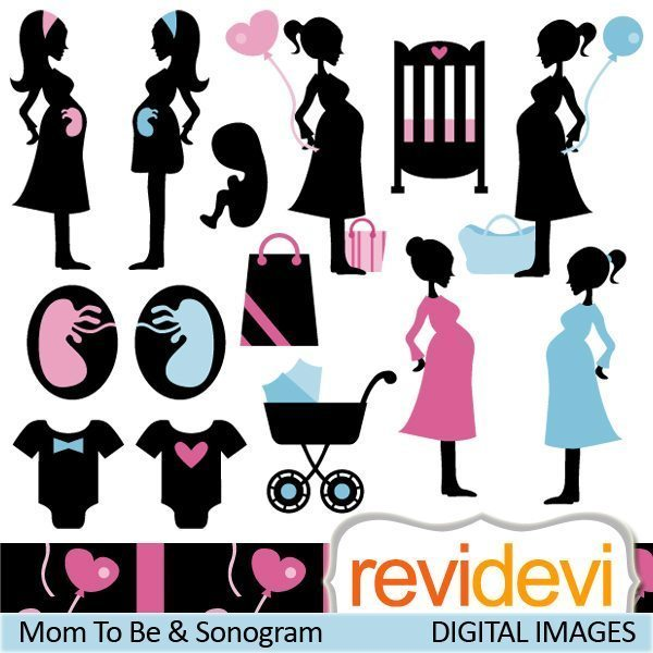 Mom To Be and Sonogram  Revidevi    Mygrafico