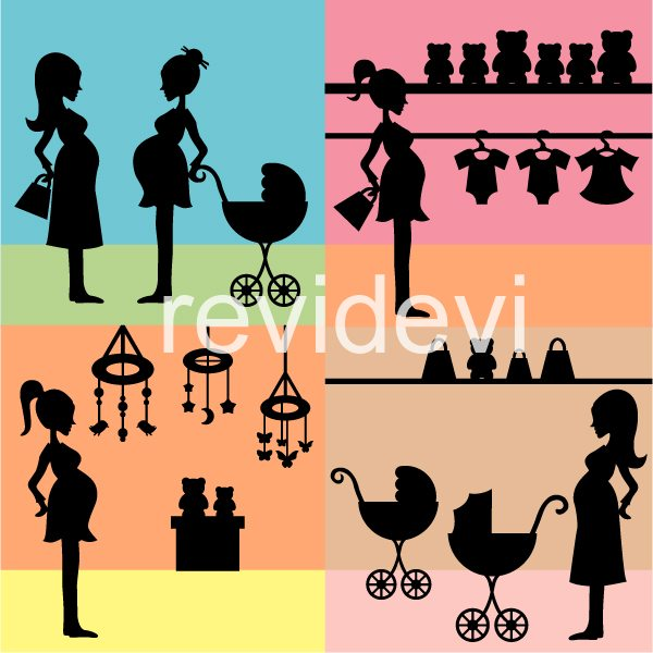 Mom To Be Silhouette  Revidevi    Mygrafico
