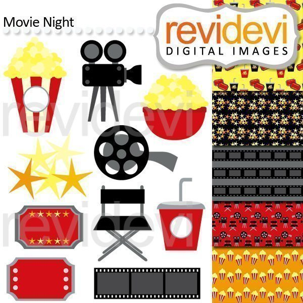 Movie Night Cliparts  Revidevi    Mygrafico