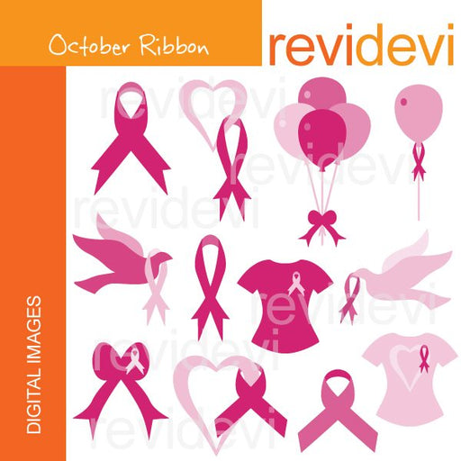 October Ribbon  Revidevi    Mygrafico
