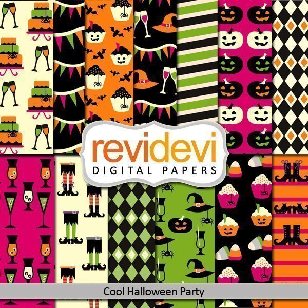 Cool Halloween Party Papers  Revidevi    Mygrafico