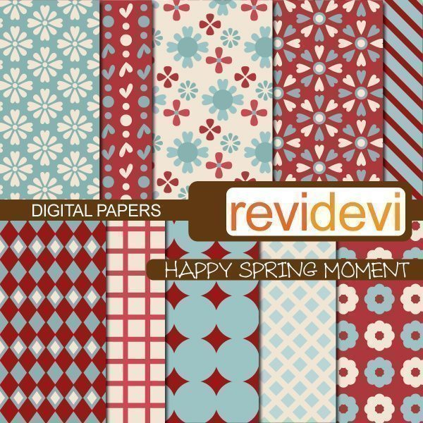 Happy Spring Moment Papers  Revidevi    Mygrafico