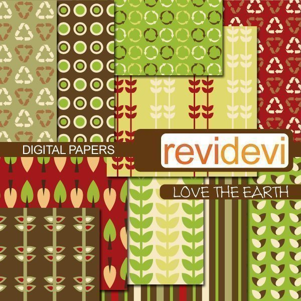 Love The Earth Papers  Revidevi    Mygrafico