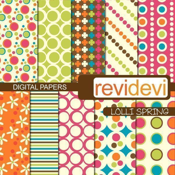 Lolli Spring Papers  Revidevi    Mygrafico