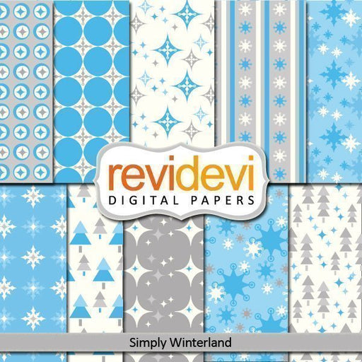 Simply Winterland Papers  Revidevi    Mygrafico