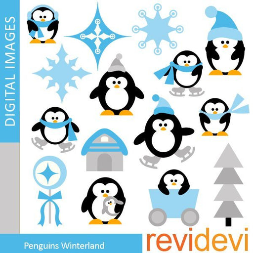Penguins Winterland  Revidevi    Mygrafico