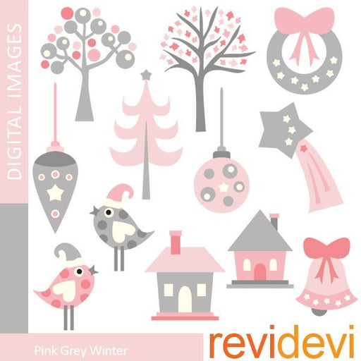 Pink Grey Winter  Revidevi    Mygrafico