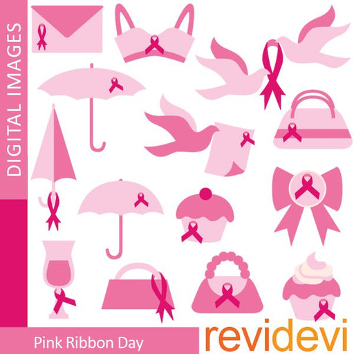 Pink Ribbon Day Clipart