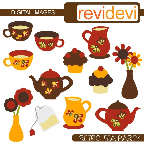 Retro Tea Party  Revidevi    Mygrafico