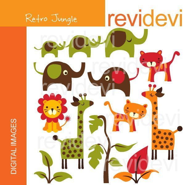 Retro Jungle  Revidevi    Mygrafico
