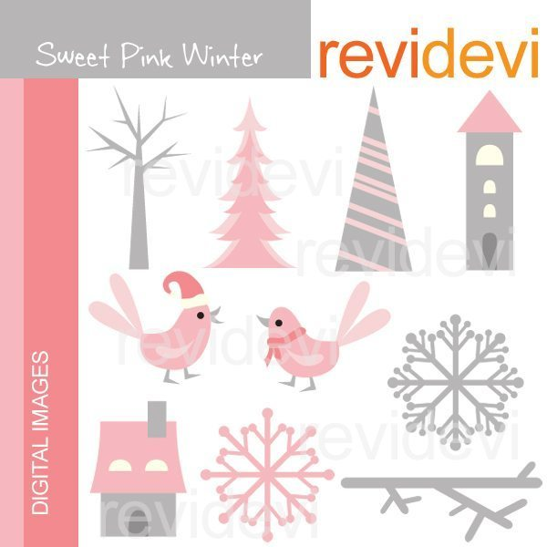 Sweet Pink Winter  Revidevi    Mygrafico