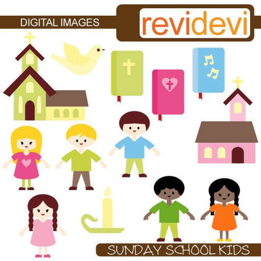 Sunday School Kids  Revidevi    Mygrafico