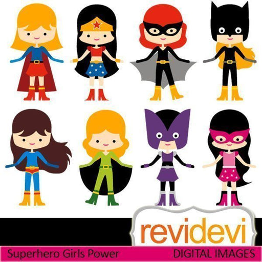 Superhero Girls Power  Revidevi    Mygrafico
