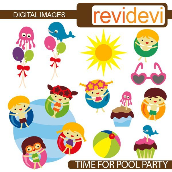 Time For Pool Party  Revidevi    Mygrafico