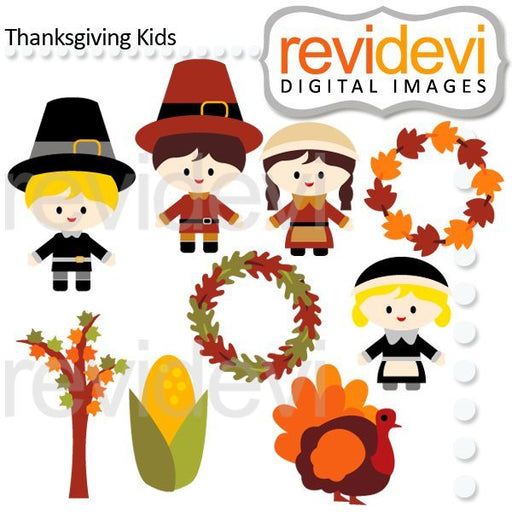 Thanksgiving Kids  Revidevi    Mygrafico