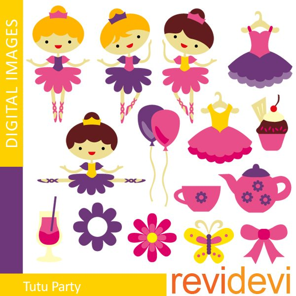 Tutu Party  Revidevi    Mygrafico