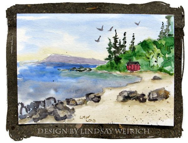 Seaside Sketches stamps  Lindsay's Stamp Stuff    Mygrafico