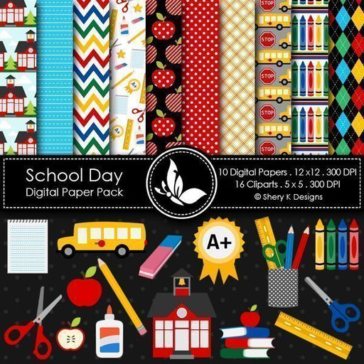 School Day  Shery K Designs    Mygrafico
