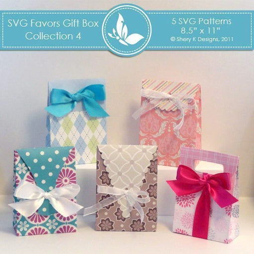 SVG Favors Gift Box Collection 4  Shery K Designs    Mygrafico